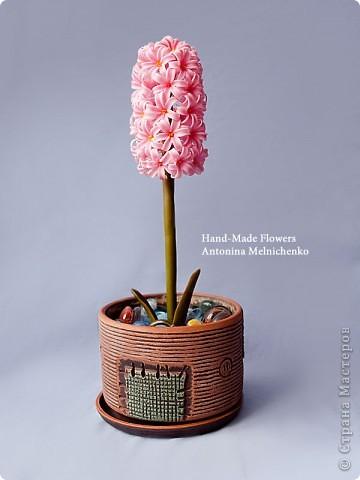 Цветы из холодного фарфора - Часть 2. Гиацинт. Подробный МК для начинающих