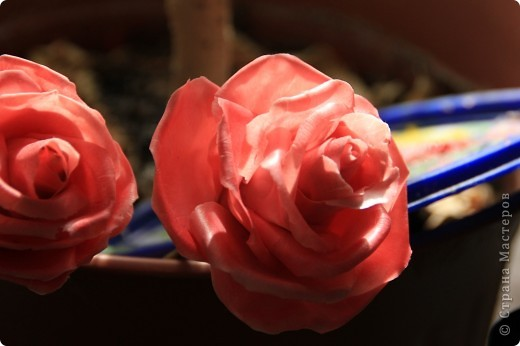 Вот, сделала наконец-то розы в живую величину, я имею ввиду сам бутон, .... стебель пока не обкатала, некогда, листики тоже в процессе, но потом добавлю, что в результате получилось. Дальше разные ракурсы и судить вам))) фото 2