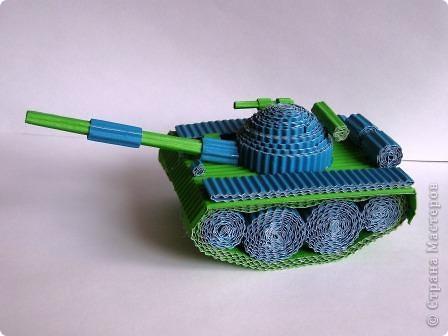 Поделка своими руками танк