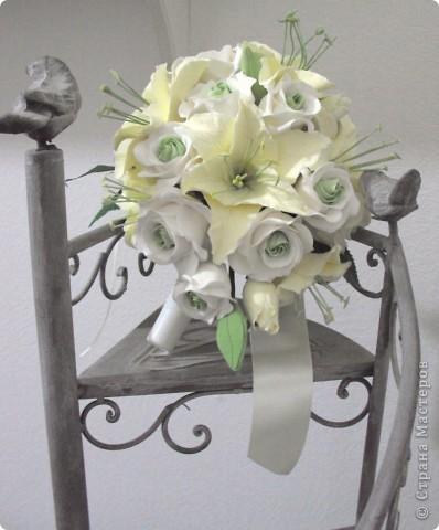 Свадебные лилии фото 4