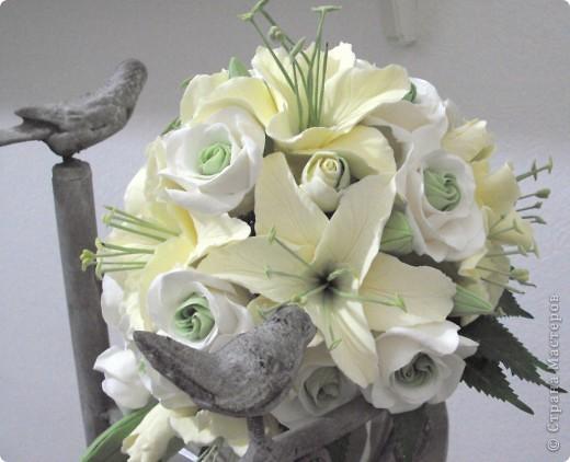 Свадебные лилии фото 1