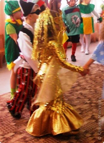 Гардероб Новый год Шитьё Костюм Золотой рыбки Ткань фото 2