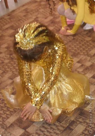 Гардероб Новый год Шитьё Костюм Золотой рыбки Ткань фото 3