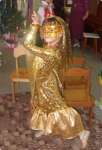 Гардероб Новый год Шитьё Костюм Золотой рыбки Ткань фото 1