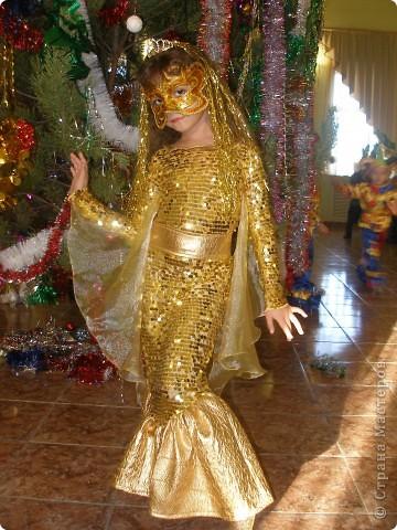 Гардероб Новый год Шитьё Костюм Золотой рыбки Ткань фото 6