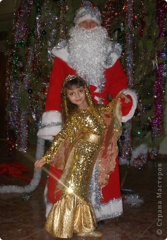 Гардероб Новый год Шитьё Костюм Золотой рыбки Ткань фото 4