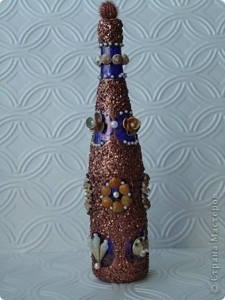 Вот такой получилась у меня вторая бутылочка.  фото 1