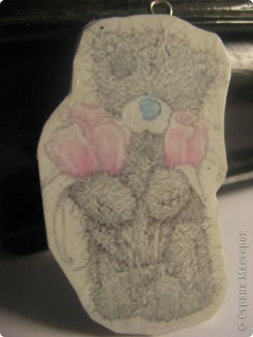 "Кулон ""мишка Тедди"" фото 1"