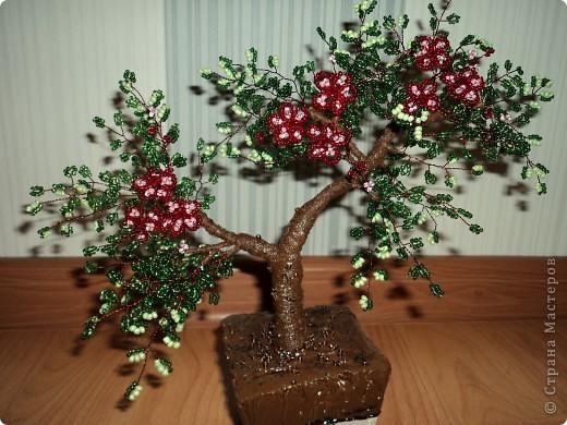 Дерево счастья своими руками из бисера