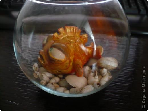 """это рыбка из соленого теста, пришла мне такая идея после просмотра мультфильма """"The Passenger"""" в YouTube      фото 1"""