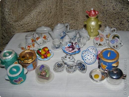 Поделки для барби посуда