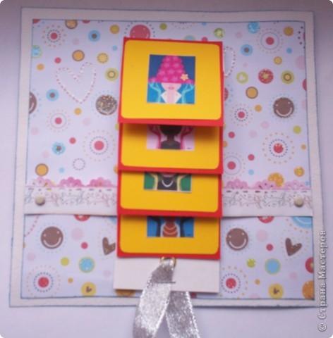 Увидела эту форму открыток и решила сделать. Спасибо Лена-Лена за ссылку.http://scrapmania.moy.su/forum/32-371-1 фото 1