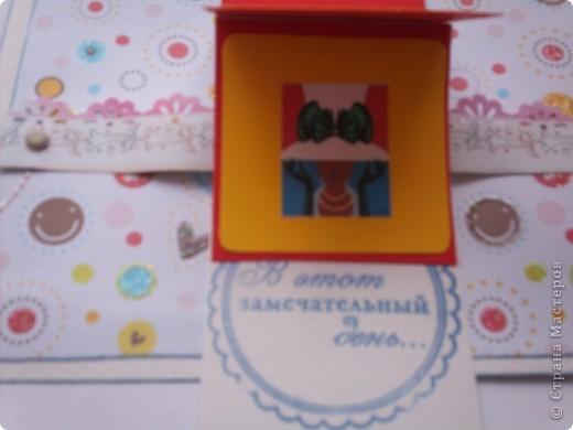 Увидела эту форму открыток и решила сделать. Спасибо Лена-Лена за ссылку.http://scrapmania.moy.su/forum/32-371-1 фото 4