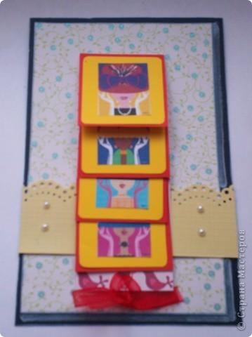 Увидела эту форму открыток и решила сделать. Спасибо Лена-Лена за ссылку.http://scrapmania.moy.su/forum/32-371-1 фото 5