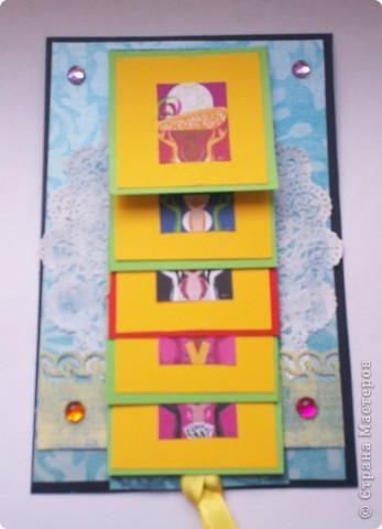 Увидела эту форму открыток и решила сделать. Спасибо Лена-Лена за ссылку.http://scrapmania.moy.su/forum/32-371-1 фото 8