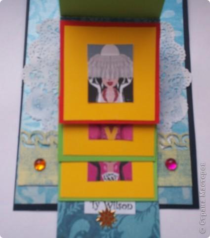 Увидела эту форму открыток и решила сделать. Спасибо Лена-Лена за ссылку.http://scrapmania.moy.su/forum/32-371-1 фото 10