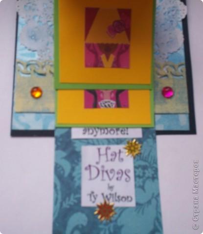 Увидела эту форму открыток и решила сделать. Спасибо Лена-Лена за ссылку.http://scrapmania.moy.su/forum/32-371-1 фото 11