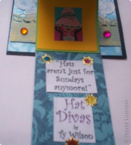 Увидела эту форму открыток и решила сделать. Спасибо Лена-Лена за ссылку.http://scrapmania.moy.su/forum/32-371-1 фото 12