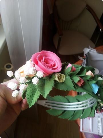 Венок из роз фото 7