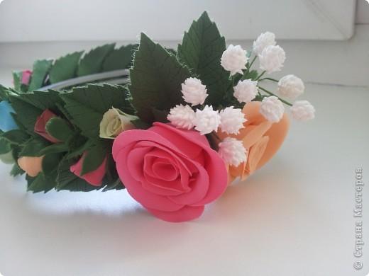 Венок из роз фото 2