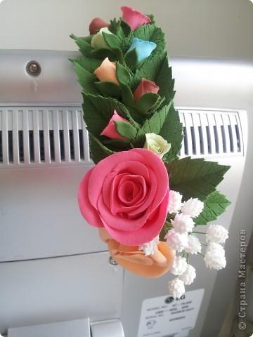 Венок из роз фото 3