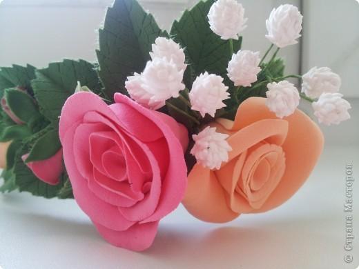 Венок из роз фото 1