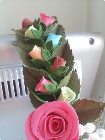 Венок из роз фото 8