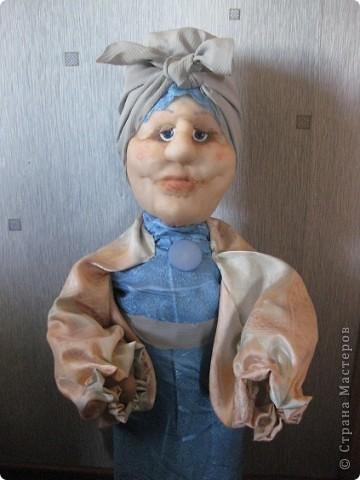 Тетушка Глафира (фигурка для сада) фото 10