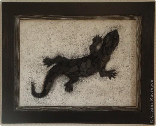 Угольная ящерица фото 1
