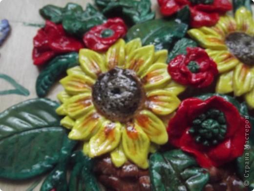 Доброго времени суток, дорогие мастерицы! Вот и я решилась на цветочки... Очень уж меня вдохновляют букеты Елены (lesinka http://stranamasterov.ru/user/89479), Ларисы Ивановой (http://stranamasterov.ru/user/18377) и многих других мастериц. Конечно, до их мастерства мне оооочень далеко, но я учусь))) фото 3