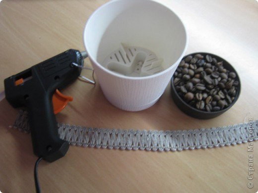 Горшок для кофейного дерева. фото 2