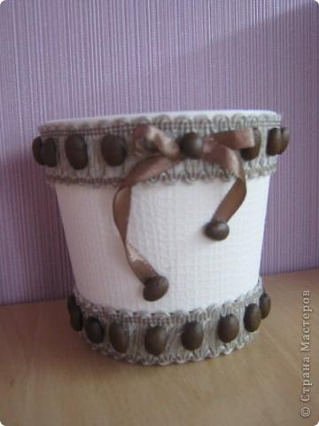 Горшок для кофейного дерева. фото 1