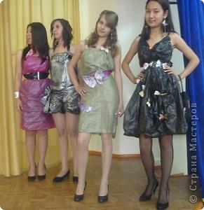 """В нашей школе было проведено внеклассное мероприятие по технологии: """"Театр моды из нетрадиционных материалов"""" фото 14"""