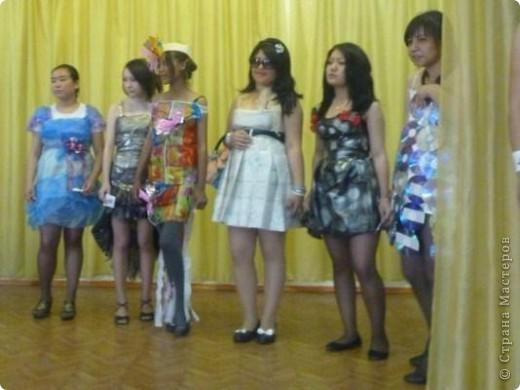 """В нашей школе было проведено внеклассное мероприятие по технологии: """"Театр моды из нетрадиционных материалов"""" фото 43"""