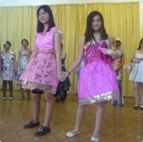 """В нашей школе было проведено внеклассное мероприятие по технологии: """"Театр моды из нетрадиционных материалов"""" фото 28"""