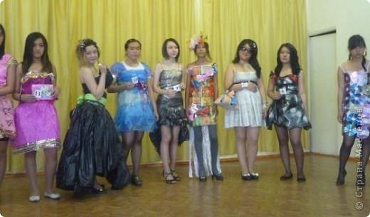"""В нашей школе было проведено внеклассное мероприятие по технологии: """"Театр моды из нетрадиционных материалов"""" фото 2"""