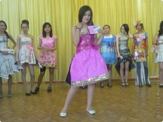 """В нашей школе было проведено внеклассное мероприятие по технологии: """"Театр моды из нетрадиционных материалов"""" фото 25"""