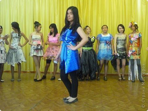 """В нашей школе было проведено внеклассное мероприятие по технологии: """"Театр моды из нетрадиционных материалов"""" фото 37"""