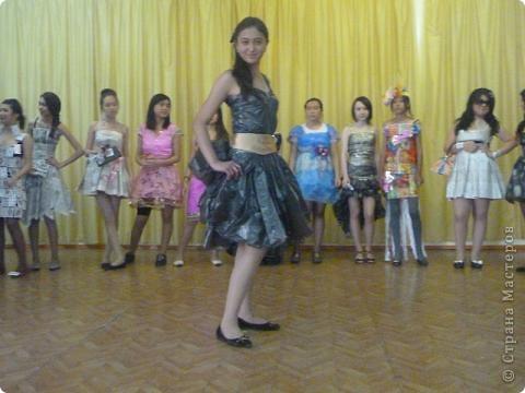 """В нашей школе было проведено внеклассное мероприятие по технологии: """"Театр моды из нетрадиционных материалов"""" фото 38"""