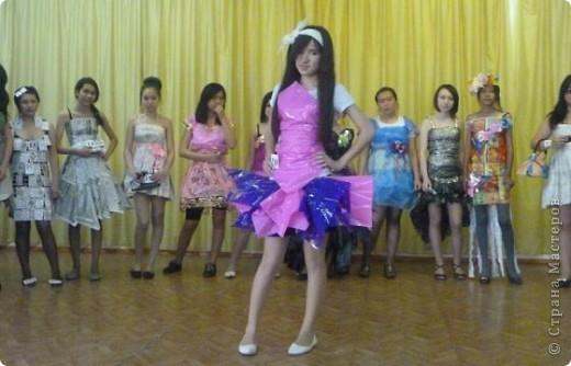 """В нашей школе было проведено внеклассное мероприятие по технологии: """"Театр моды из нетрадиционных материалов"""" фото 39"""