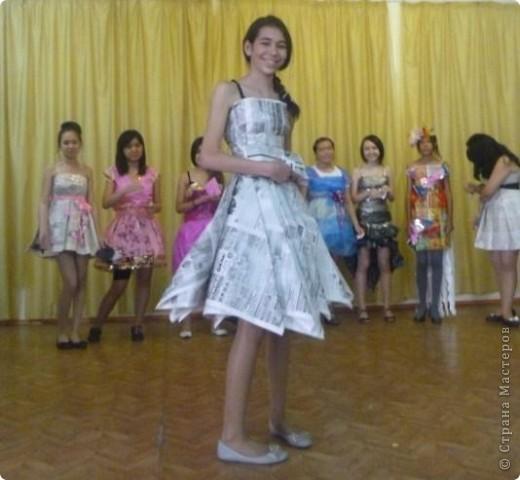 """В нашей школе было проведено внеклассное мероприятие по технологии: """"Театр моды из нетрадиционных материалов"""" фото 33"""
