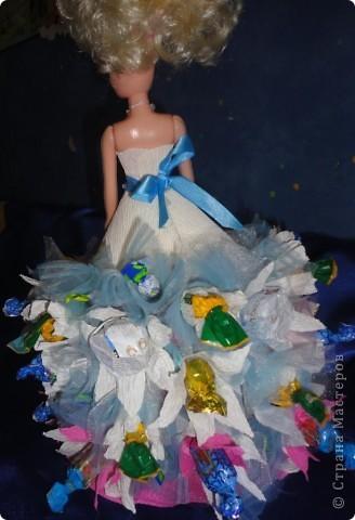 Для лучшей подружки Верники были сделаны вот такие подарки. Открытку и рамочку для фотографии Вероника делала сама, ну а от меня подарком была кукла в свит-дизайне. фото 12
