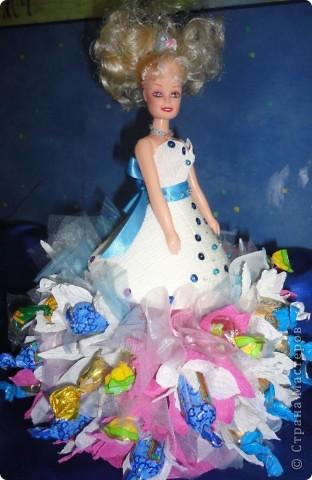 Для лучшей подружки Верники были сделаны вот такие подарки. Открытку и рамочку для фотографии Вероника делала сама, ну а от меня подарком была кукла в свит-дизайне. фото 10