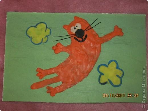 летящий котик