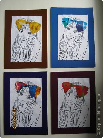 Попробовала восприятие картинки в зависимости от разного цвета датали. Действительно, меняется настроение и восприятие изображения. Убедитесь сами. фото 2