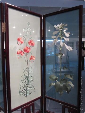 Доброго всем времени суток!  Приглашаю всех пройтись по залу вышивки в рамках биеннале современного китайского искусства.  Все работы - вышивка шёлком.  фото 9