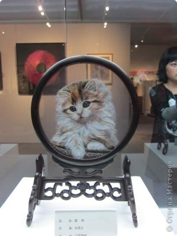 Доброго всем времени суток!  Приглашаю всех пройтись по залу вышивки в рамках биеннале современного китайского искусства.  Все работы - вышивка шёлком.  фото 18