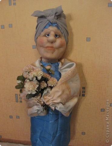 Тетушка Глафира (фигурка для сада) фото 2