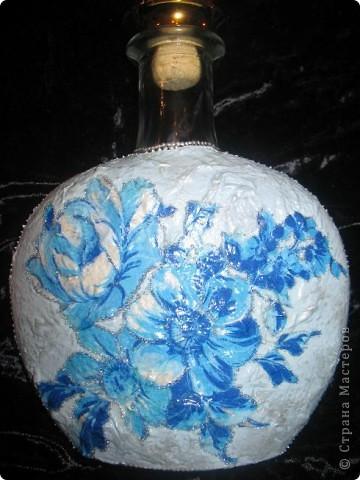 Это бутылочка для святой воды, я сделала её для старинной подруги))) фото 1