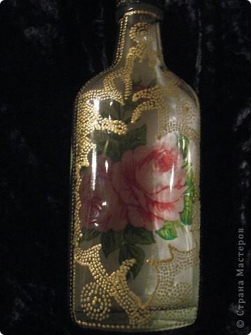 Это бутылочка для святой воды, я сделала её для старинной подруги))) фото 7
